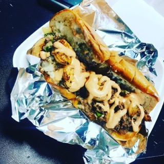 Souls Big Philly Shrimp Steak n Cheese